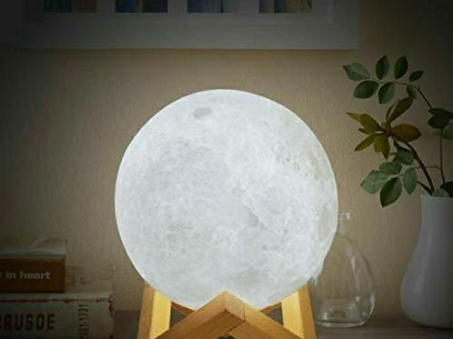 3D Rechargeable Led moon Lamp