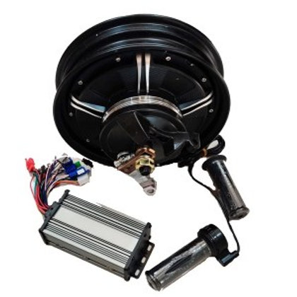 COMBOKIT 48V 1500W Electric Scooter Rear Wheel Hub Motor DIY Conversion Kit