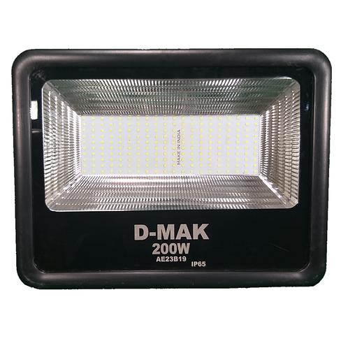 SALE 200 Watt Waterproof LED Black Body Flood Light For Outdoor Purposes (White)
