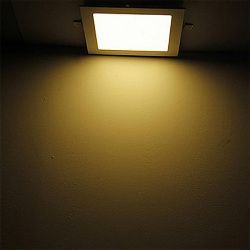 15 Watt Square Warm White (Yellow) Led Conceal Light for POP/ Recessed Lighting