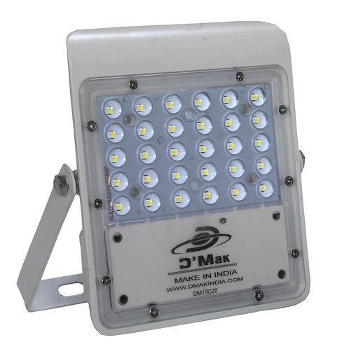SALE 30 Watt Waterproof LED White Body Flood Light For Outdoor Purposes (White)