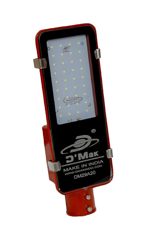 36 Watt Waterproof Red body Led Street Light for Outdoor Purposes (White)