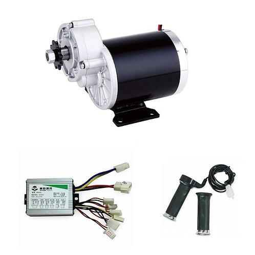 600W 36V (GB)+Motor Controller+Accelerator+Brake