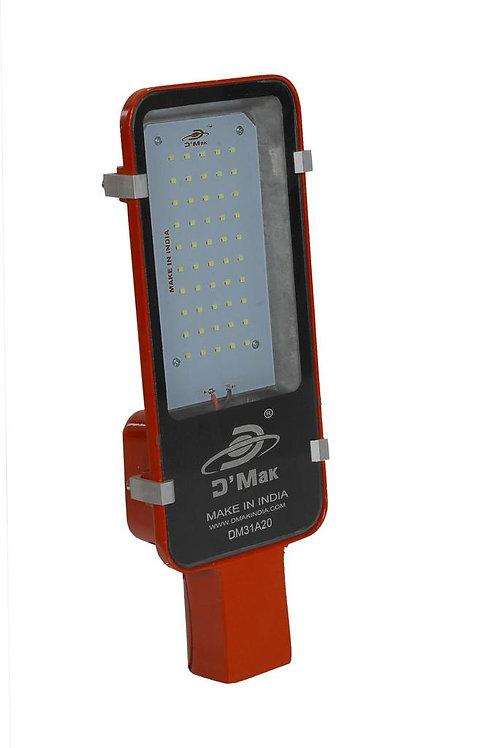 40 Watt Waterproof Red body Led Street Light for Outdoor Purposes