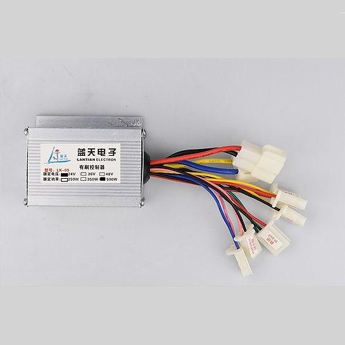 Brush Motor Controller 24V 500W for Ebike