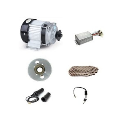 COMBOKIT DC 48V 1500W BM1418ZXF Brushless Motor, DIY E-Tricycle For Medium And H