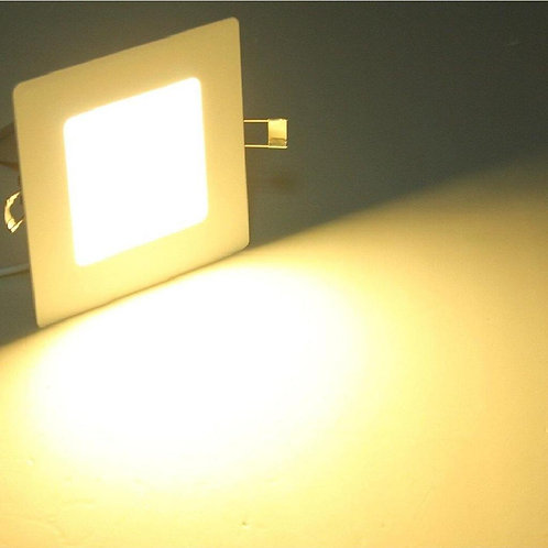 8 Watt Square Warm White (Yellow) Led Conceal Light for POP/ Recessed Lighting