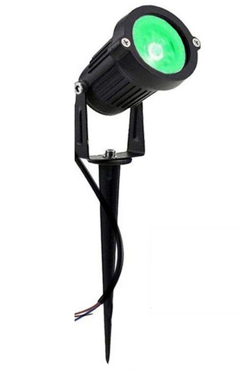 9 Watt LED Spike Garden Light for Outdoor Purposes(Green)