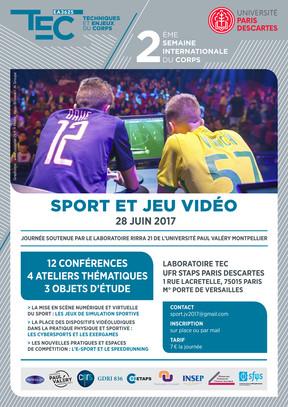 2e Semaine Internationale du Corps : Sport et Jeu Vidéo