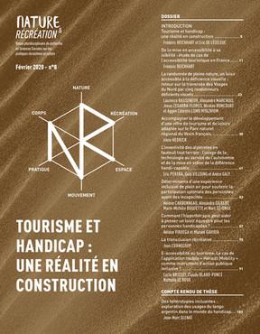 Nature et Récréation n°8 : Tourisme et handicap: une réalité en construction