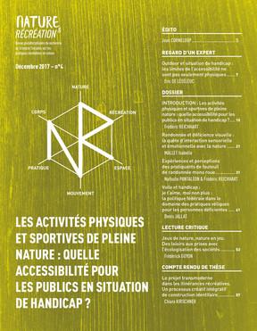 Nature et Récréation n° 4 - Les activités physiques et sportives de pleine nature : quelle accessibi
