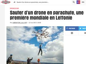 Quand la technologie aérienne rencontre les pratiques sportives de nature, elle créée de hybridités