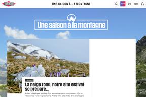 Le journal Libération se met à la montagne