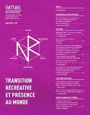 Nature et Récréation n° 5 - Transition récréative et présence au monde
