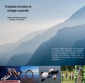 Transition récréative et écologie corporelle