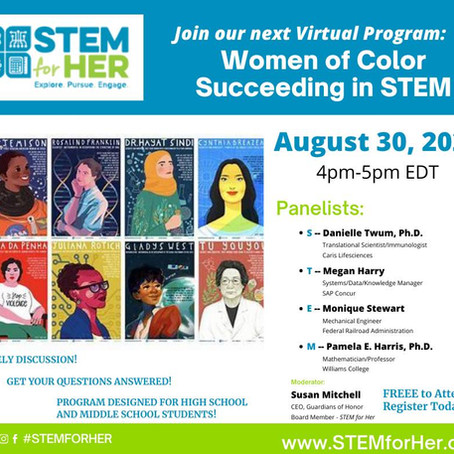STEM for Her Presents: Women of Color Succeeding in STEM