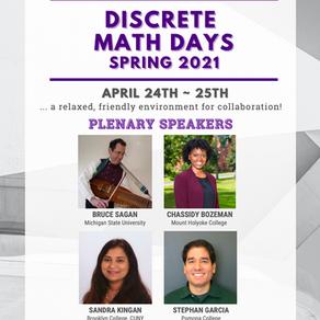 Discrete Math Days 2021