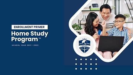 SD IMS Home Study Program Enrollment Pri