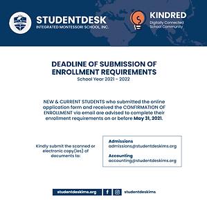Enrollment Campaign Post - April 27, 202