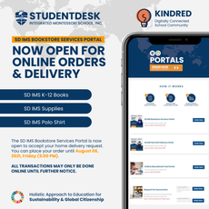 Bookstore Services Portal Now Open for Online Orders and Delivery