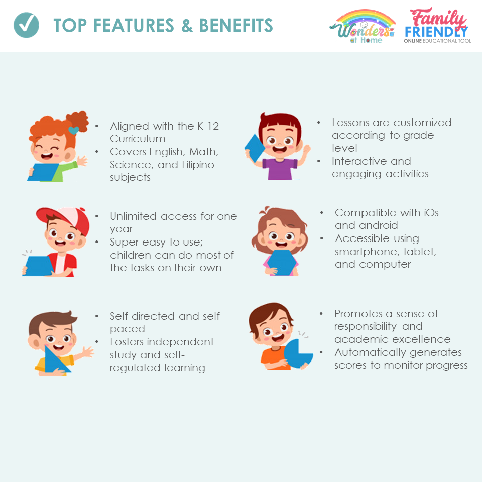 TOP FEATURES & BENEFITS