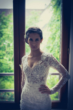 élégante robe de mariée