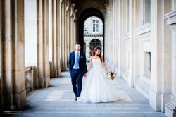 photos de couple au Louvre