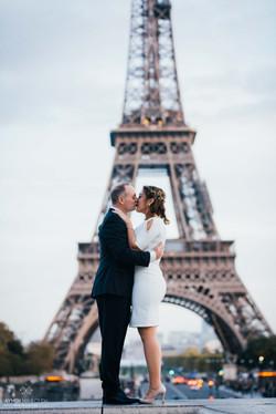 mariage devant la tour Eiffel