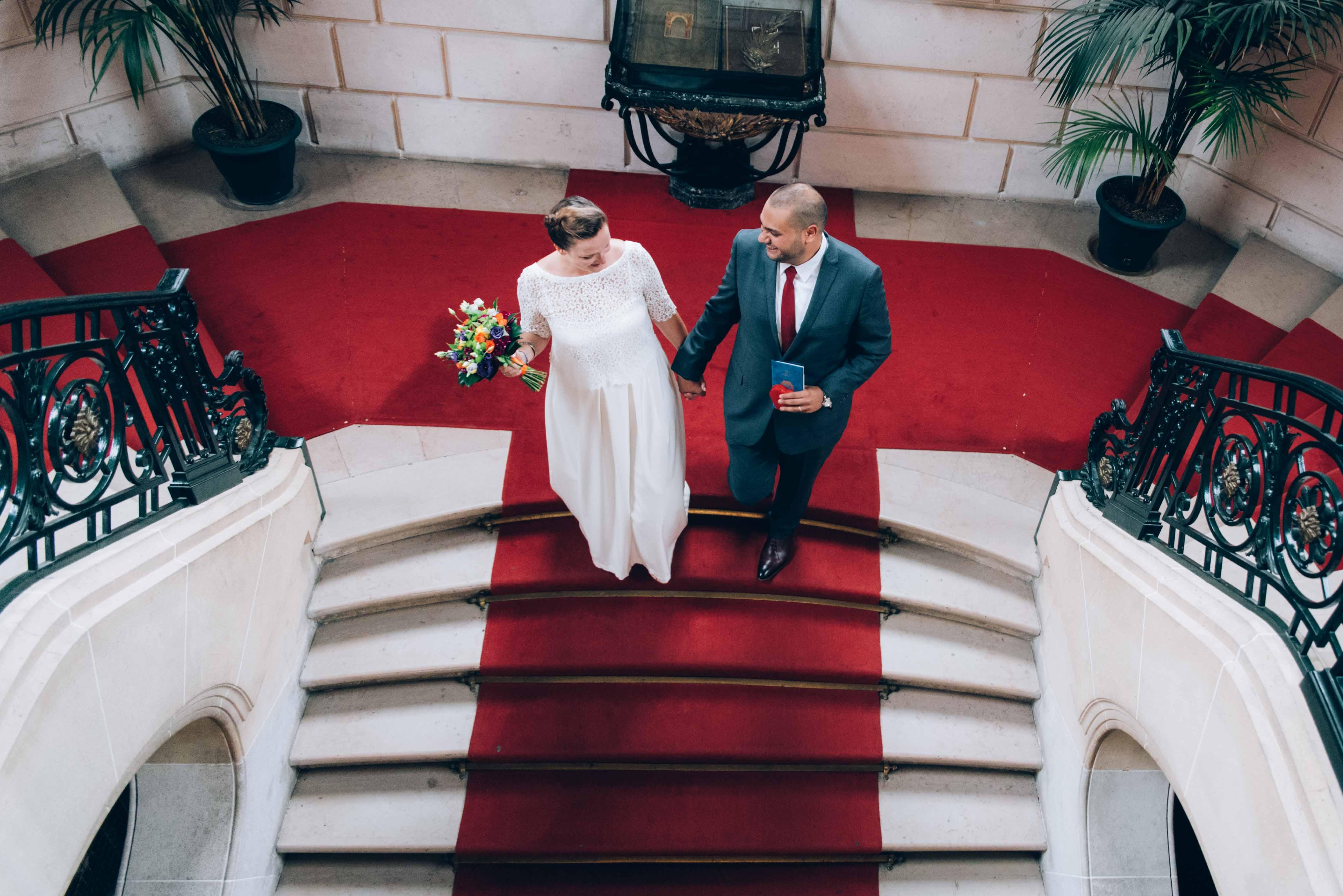 mariage: mairie à Paris