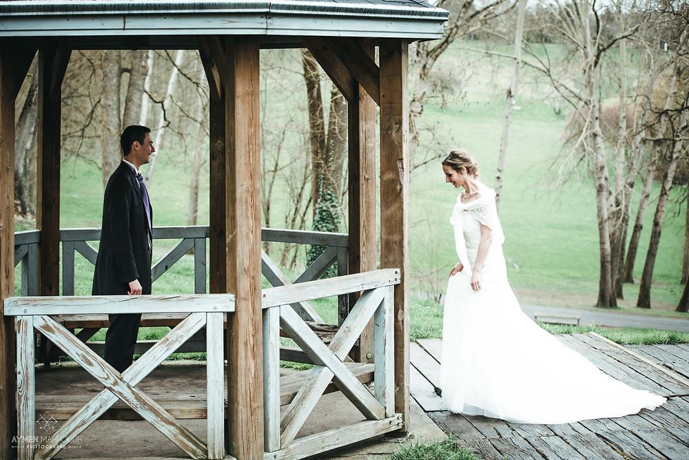 la découverte entre les mariées