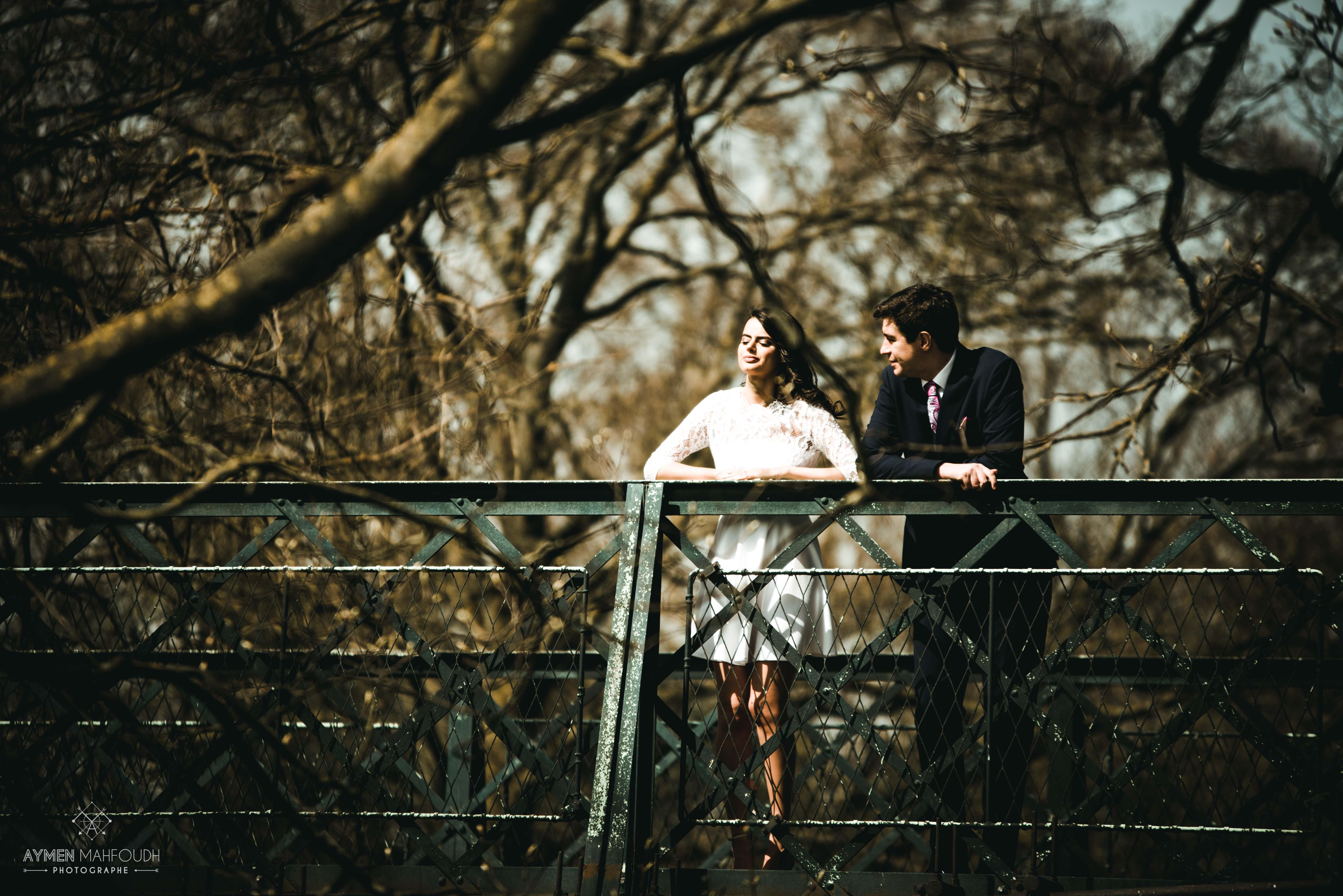 le bonheur du jeune couple