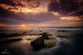 Impression d'un soleil levant / Kélibia, Tunisie
