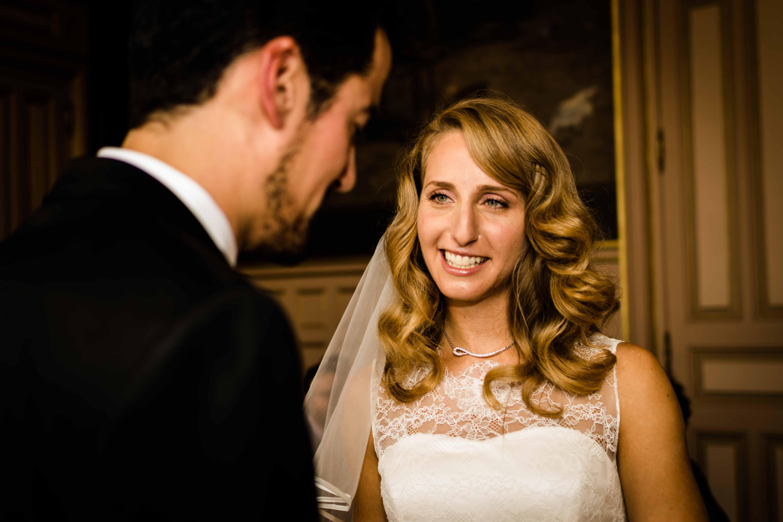 mariage plein d'émotions