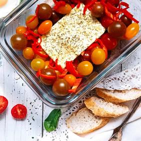 Tomates cerises & feta - sauce pour pâtes
