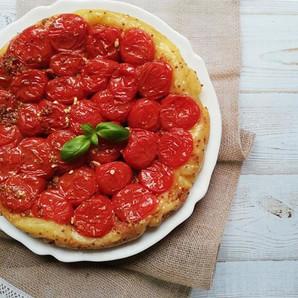 Tarte tatin de tomates à l'ancienne