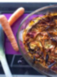 gratin-tagliatelles-légumes-carotte-poireau-végétarien-hiver