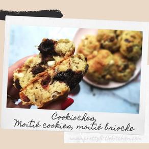 Cookioches, moitié cookie - moitié brioche