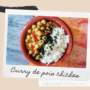Curry de pois chiches à l'indienne
