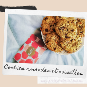 Cookies amandes & noisettes