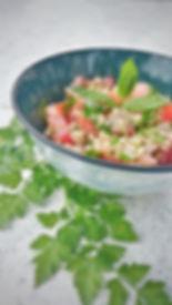 pretty-little-kitchen-taboulé-libanais-menthe-persil-boulgour-citron-végétarien-huile-olive-frais-entrée-accompagnement-tomate