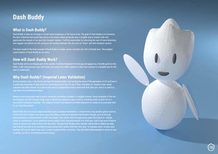 Dash Buddy Design