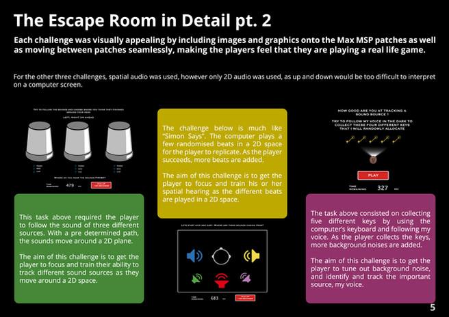 Escape Room in Detail pt. 2