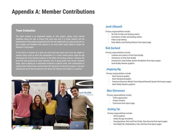 Member Contribution