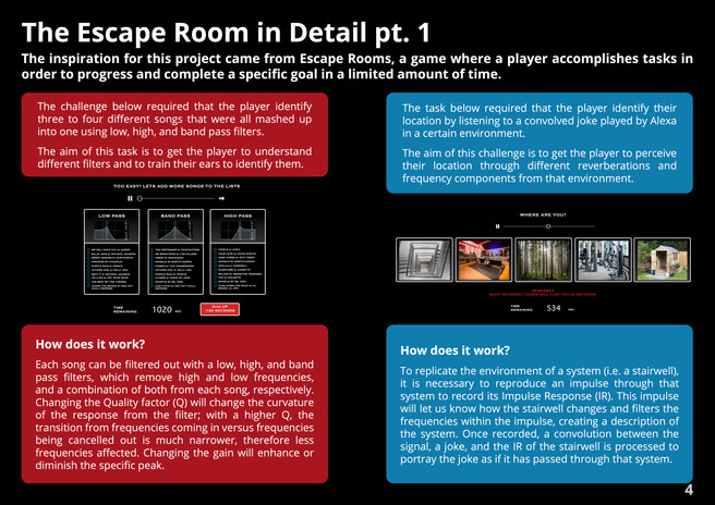 Escape Room in Detail