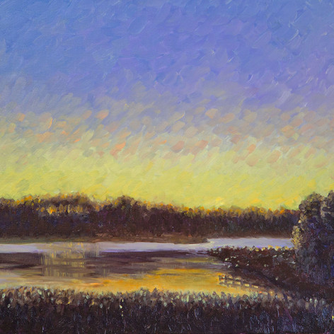 Twilight On the Creek