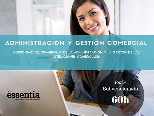 Administración y Gestión Comercial 60h.