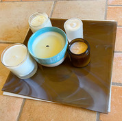 A Square Overlayed Lazy Susan