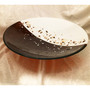 Brown and White Cookie Bowl