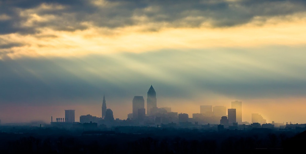 """""""Sunset at Cleveland"""" by sailwings is licensed under CC BY-NC-SA 2.0"""