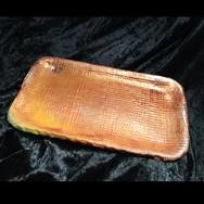 Golden Metallic Tray